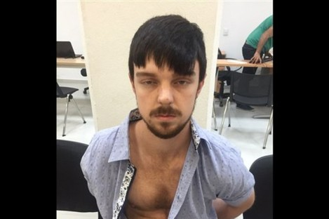 Ethan Couch after his arrest this week.