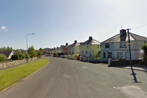 Termon Road in Boyle, Co Roscommon, the scene of last week's fatal house fire.