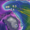 While Storm Frank flooded Ireland, it raised North Pole temperatures above freezing