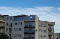 The apartment which lost its roof to Storm Frank was built by Priory Hall's Tom McFeely
