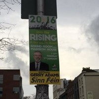 Now it's Sinn Féin's turn for a stint on the bold step regarding election posters