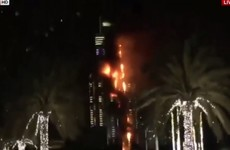 Fire breaks out at luxury Dubai hotel