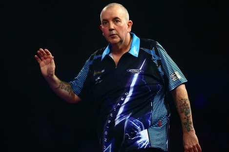 Sixteen-time world champion Phil Taylor