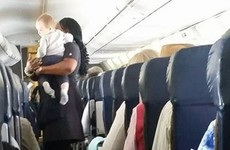 A mam's heartfelt thank you to the air hostess who helped calm her baby is going viral