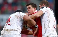 Keatley keeps his cool to arrest Munster slide with win away to Ulster