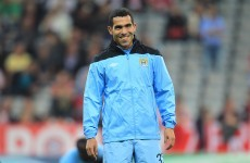 City to fine Tevez £1.5m for refusal to play - report
