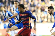 'Nothing happened, there was no racist chanting aimed at Neymar' - Espanyol president