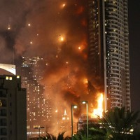 German international lost all his holiday possessions in Dubai hotel fire