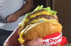 This pie made out of In-N-Out burgers is something to behold