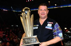 Newly crowned World Darts Champion may need glasses
