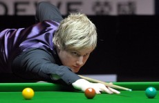 Robertson faces Crucible opponent Dott again