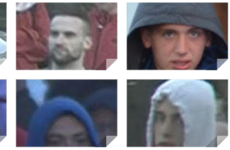 Police release photos of 15 men following attacks which injured 25 officers