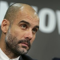 Guardiola wants to coach in England, but says he hasn't received any offers yet