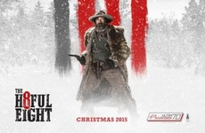 Here's why The Hateful Eight won't be shown in some of Ireland's biggest cinemas