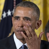 Watch: Obama in tears as he announces plan on gun control