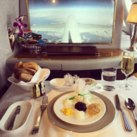 11 ridiculously luxurious pictures of first class plane food