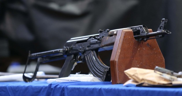 "These weapons are just some of those seized from ""focused"" dissident republicans in the last few years"