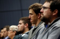 Tom Coughlin's final press conference brought Eli Manning to tears