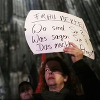 'They were groping us and we were trying to get away' - Cologne sex attacks spark protests