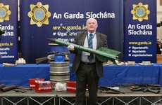 "This homemade rocket found in Wexford has no aiming system and ""could have done serious damage"""
