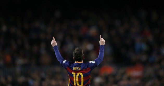 Messi's stunning in-off-the-bar free-kick pushes Barca to derby win in Copa del Rey