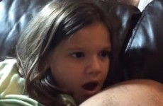 This little girl just found out who Luke Skywalker's dad is and her reaction is brilliant