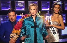 They parodied that morto Miss Universe moment at the People's Choice Awards last night