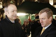 Enda and Micheál have spent all day having a go at each other