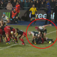 Leicester lock gets a one-week ban for this punch against Saracens