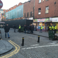 Builders down tools as protesters occupy buildings on Moore Street