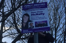 Dáil hopeful claims 'establishment' to blame for mysterious poster theft