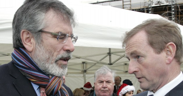Gerry Adams: Enda just doesn't get 1916
