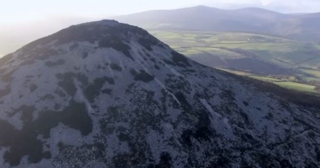 This soaring footage of Wicklow in mid-winter will help you stick to those resolutions