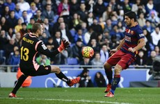Suarez hit with two-match ban following Espanyol tunnel scuffle