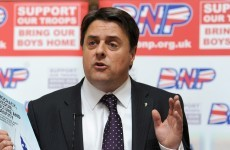 Trinity society withdraws invite to BNP leader Nick Griffin