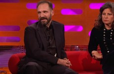 Voldemort scaring the shite out of a little boy was the best anecdote on Graham Norton