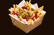 McDonald's down under has introduced guacamole loaded fries