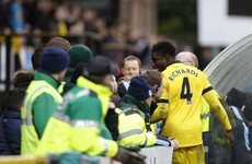 Aston Villa captain Micah Richards in heated exchange with fans after FA Cup draw