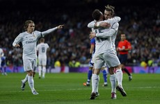 Bale hat-trick gets Zidane off to dream start as Real Madrid manager