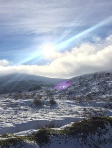 That cold weather has arrived: Sally Gap closed after snow in Leinster