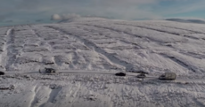 Watch: Drone footage of the Dublin mountains carpeted with a layer of fresh fluffy snow