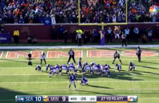 Laces out! Vikings lose after horribly missing 27-yard field goal in the final seconds