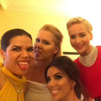 16 of the best behind-the-scenes Instagrams from last night's Golden Globes