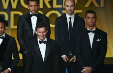 Messi, Ronaldo snub each other in Ballon d'Or voting