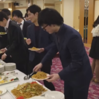This man's attitude to a hotel buffet is an inspiration to us all
