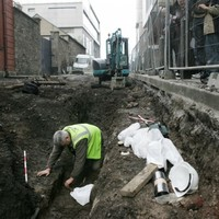 In pictures: Body from 17th century discovered in Dublin