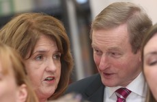 Has Enda told Joan what's in his head?