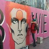 This lovely David Bowie artwork just appeared on a Dublin street