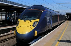 Trains in the UK were delayed due to 'strong sunshine' this morning