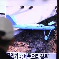 South Korea fires warning shots at North after drone peeps over border